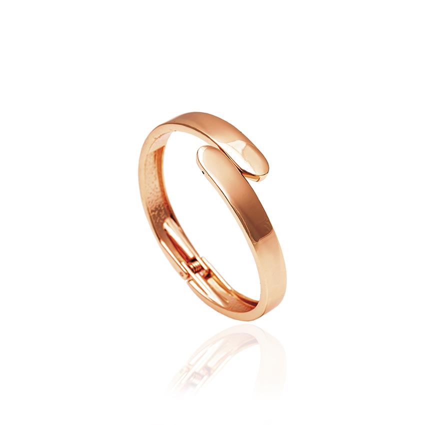 Rose Gold Wrap Bangle