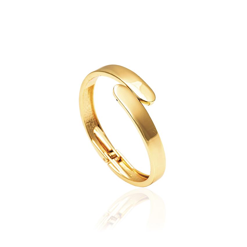 Gold Wrap Bangle
