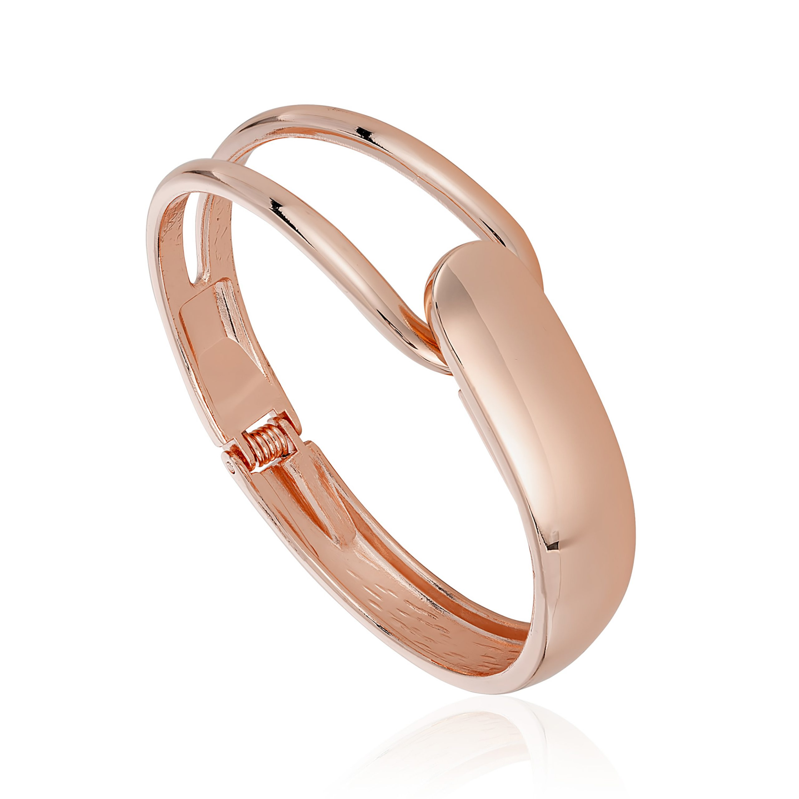 Rose Gold Connect Bangle