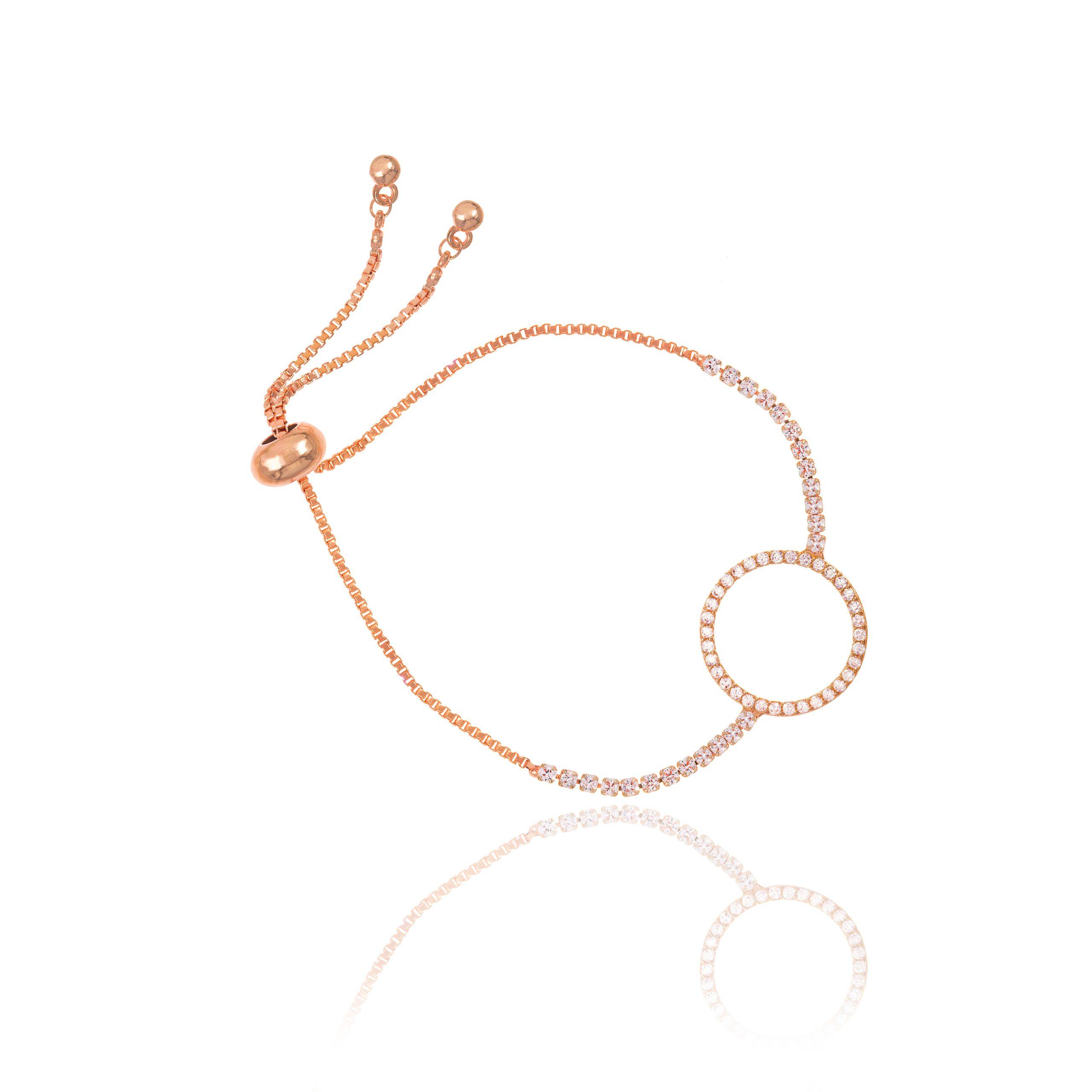 Gold Horizon Toggle Bracelet