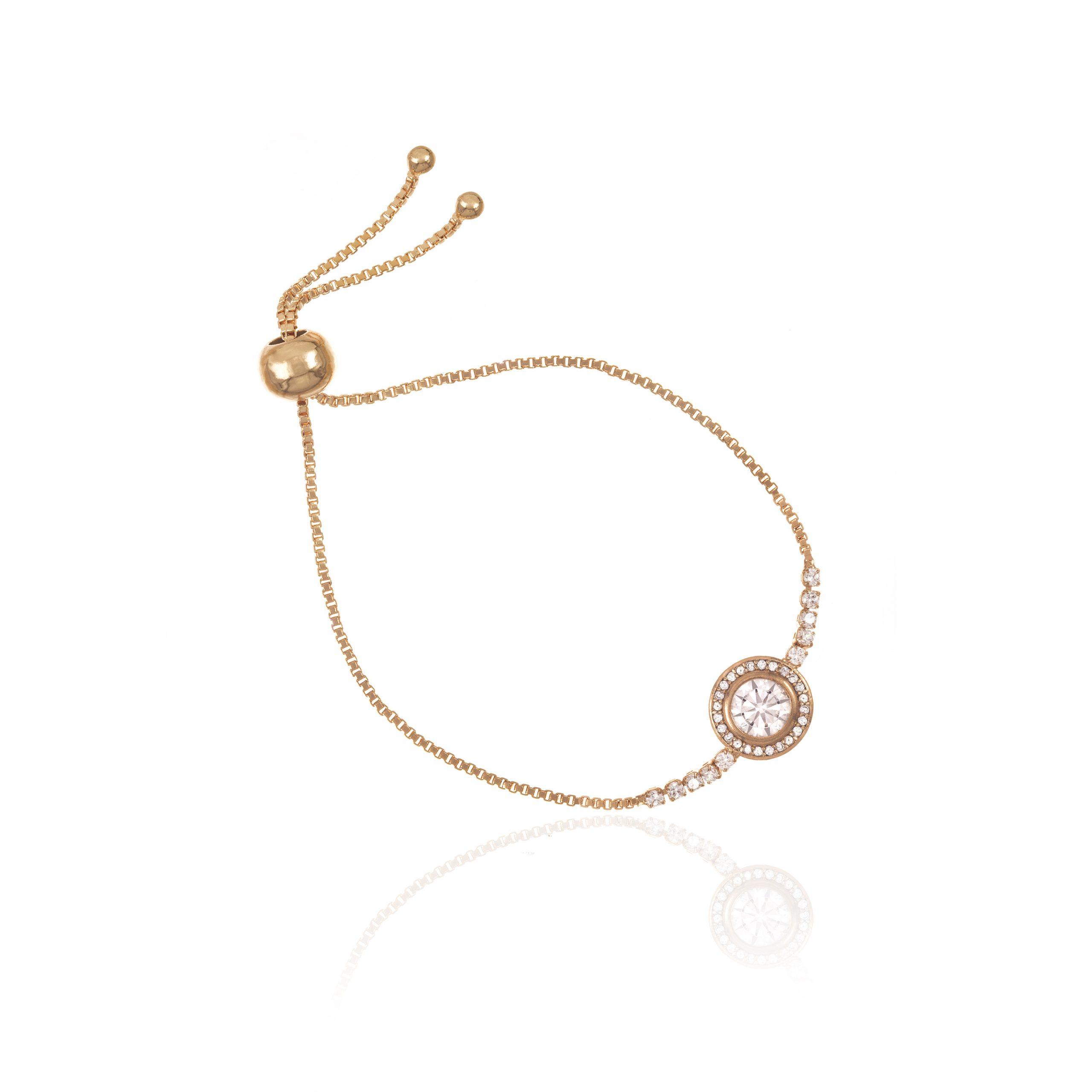 Gold Opera Toggle Bracelet