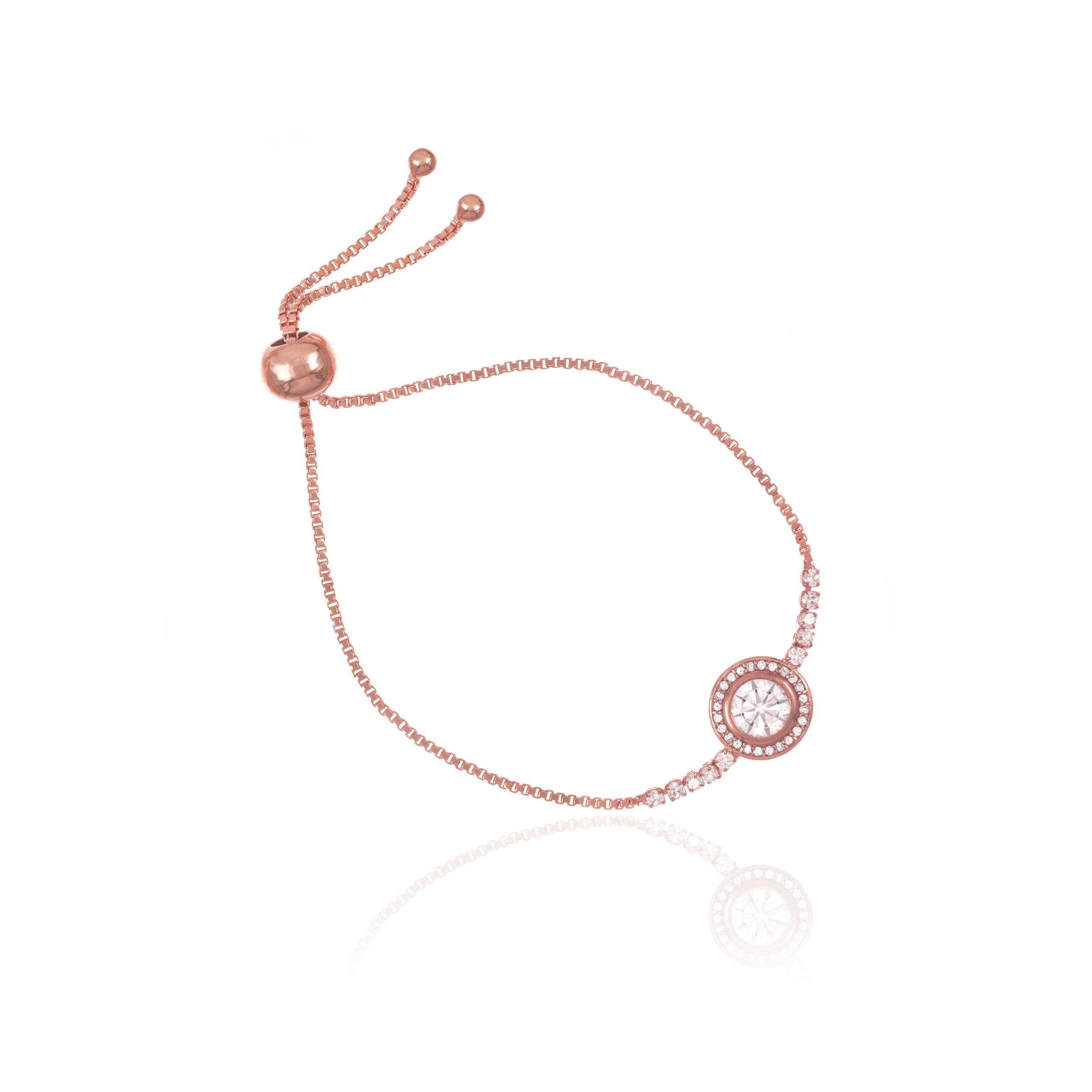 Rose Gold Opera Toggle Bracelet