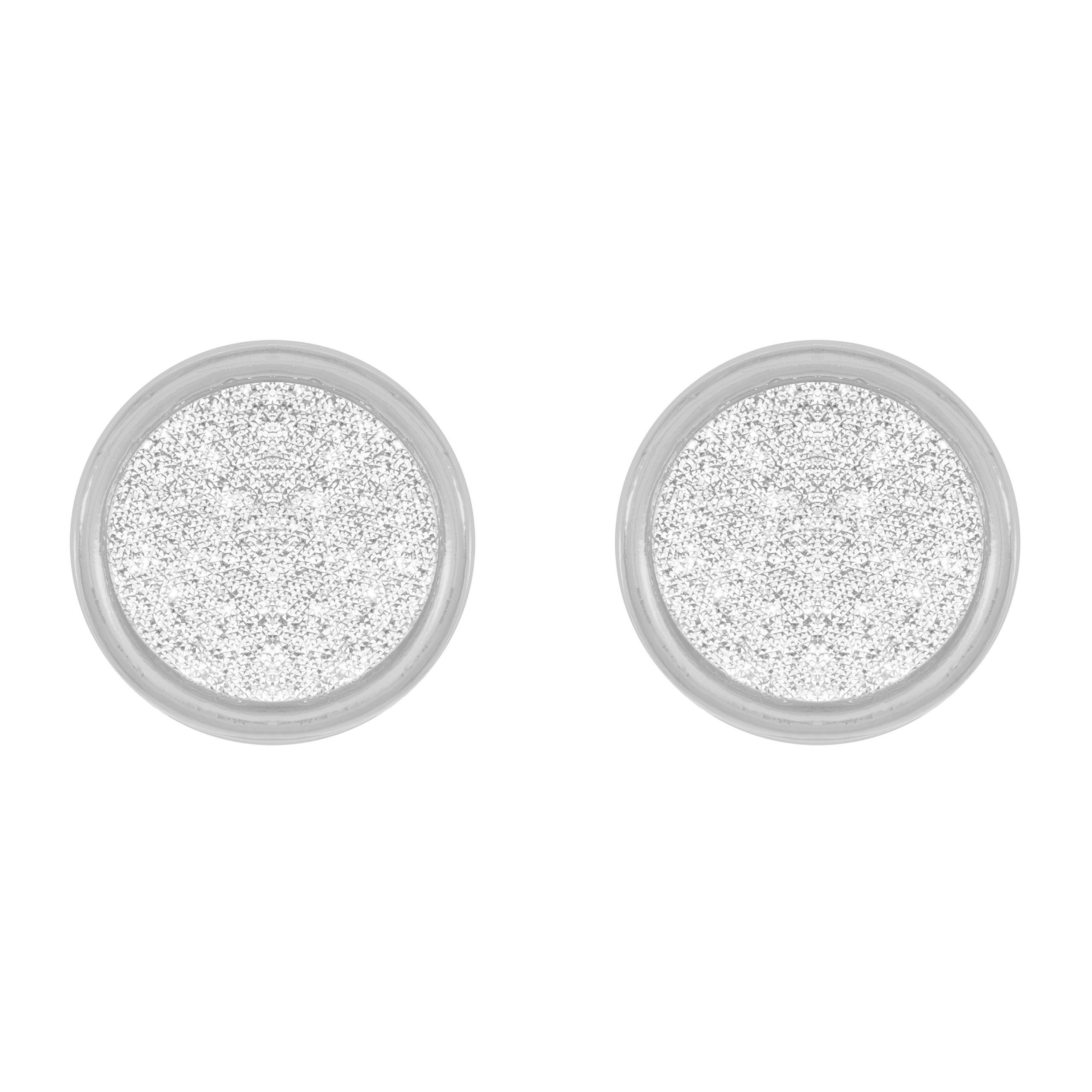 Silver Moondust Earrings