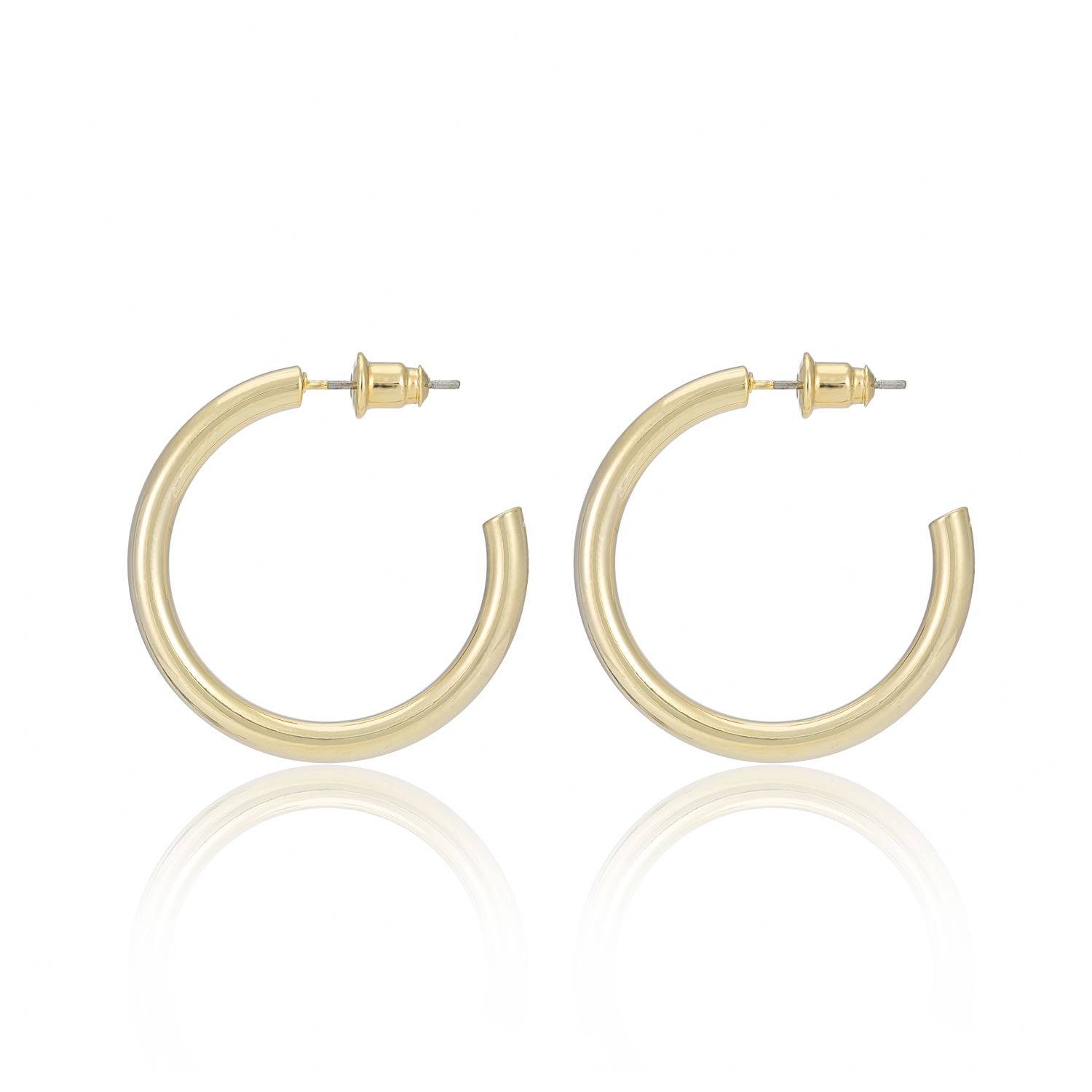 GOLD Be Bold Eternity Hoops