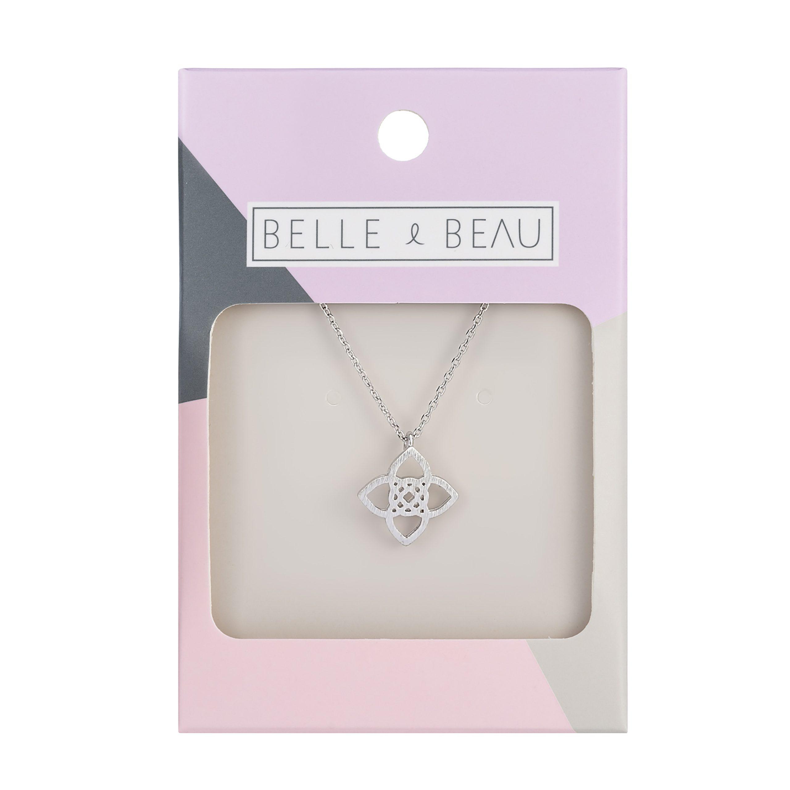 Silver Kaleidoscope Celtic Necklace