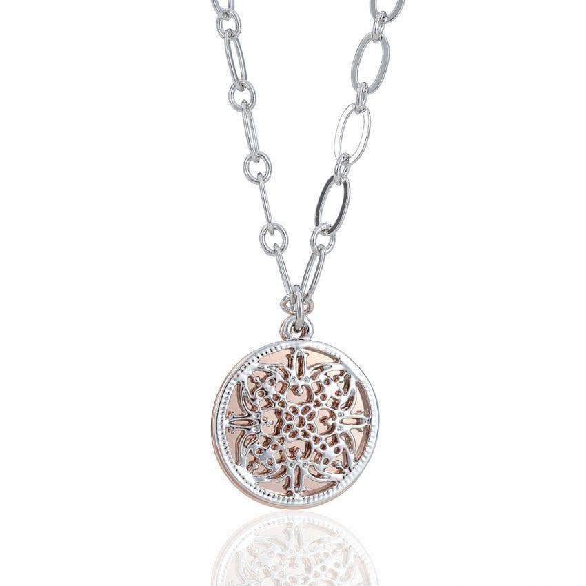 Cameo Arabesque Necklace