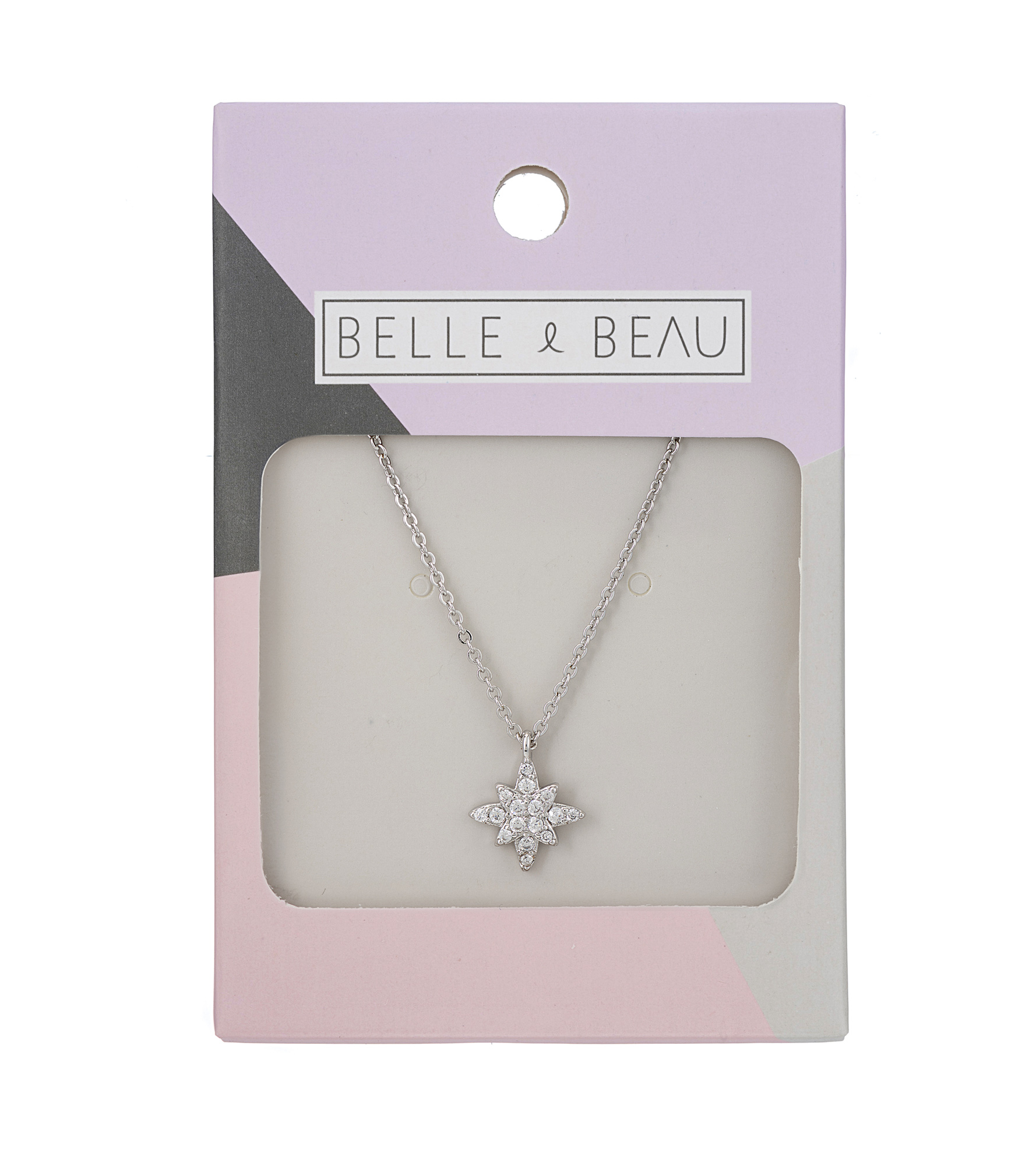 SILVER Dainty Delights North Star Necklace