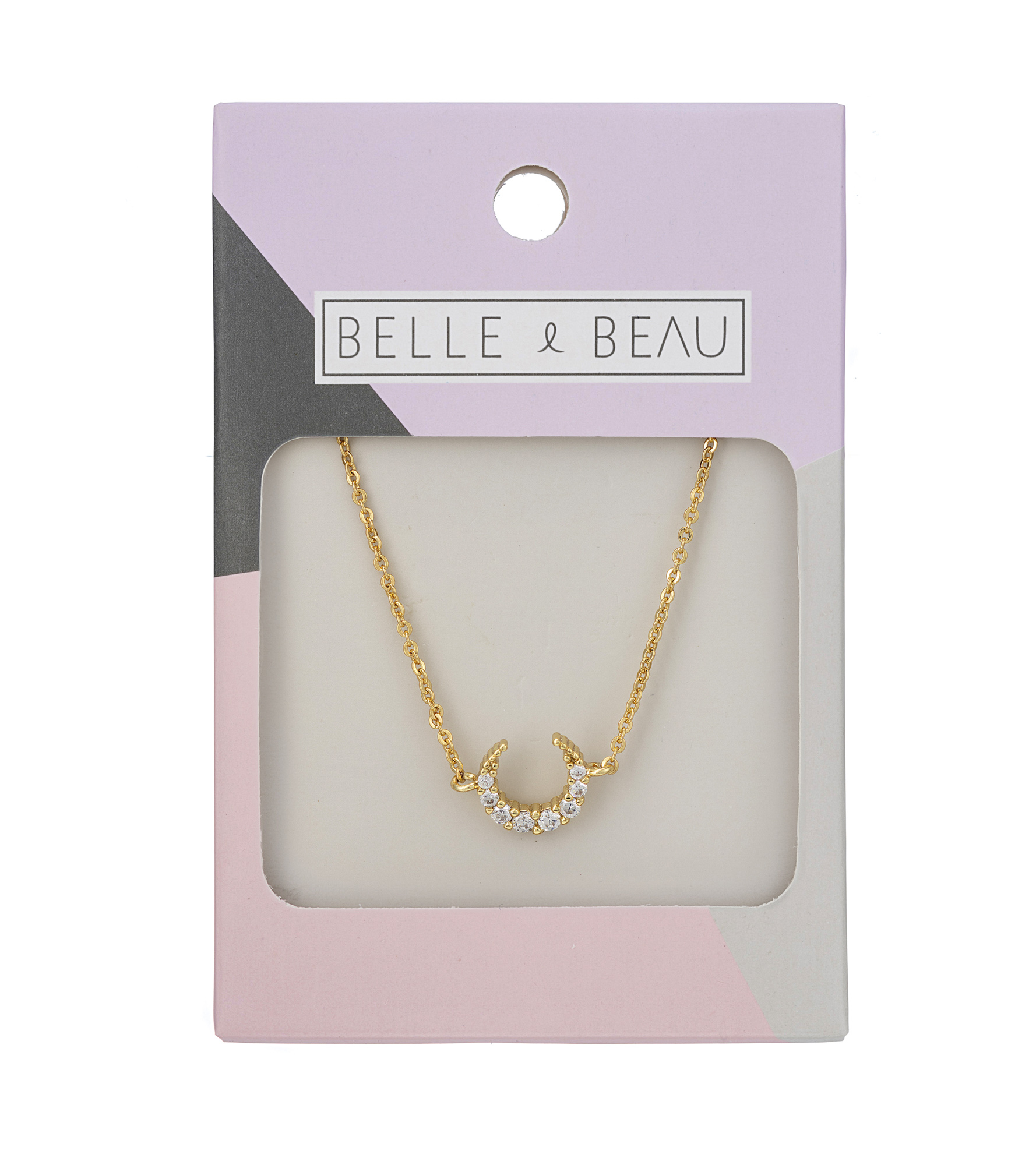 GOLD Dainty Delights Horn Necklace