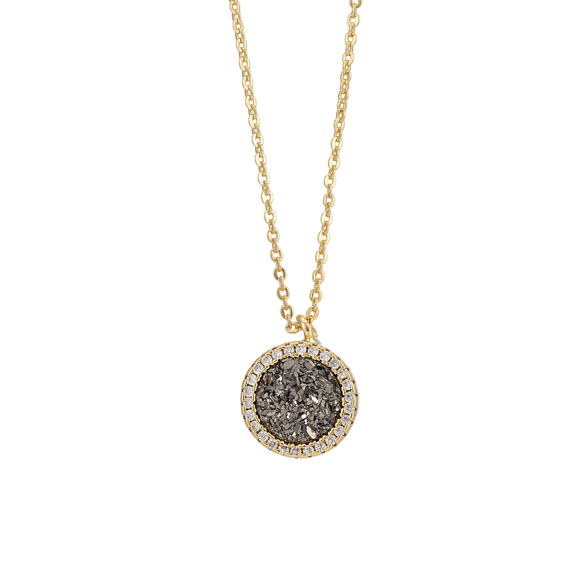 Starlet Storm Circle Necklace