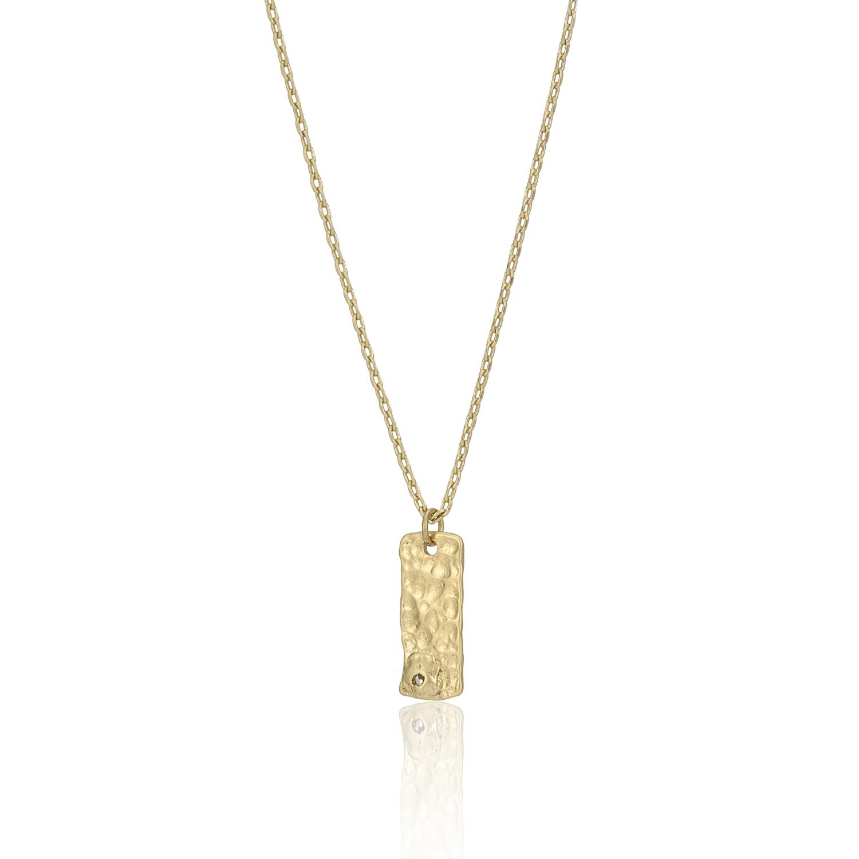 GOLD Enchanted Treasure Molten Necklace