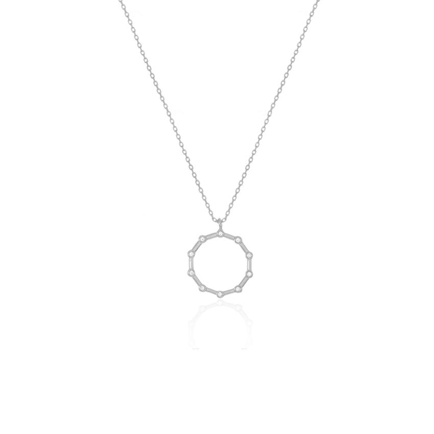 Silver Aurora Necklace