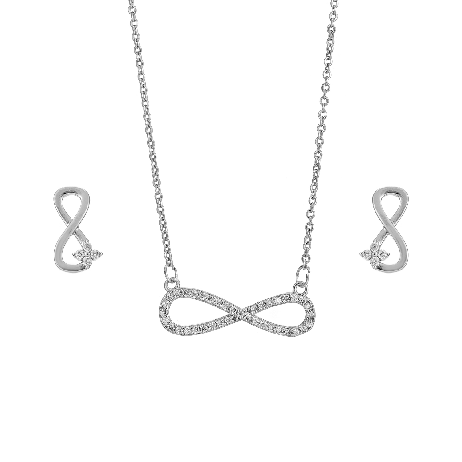 SILVER Infinite Love Gift Set