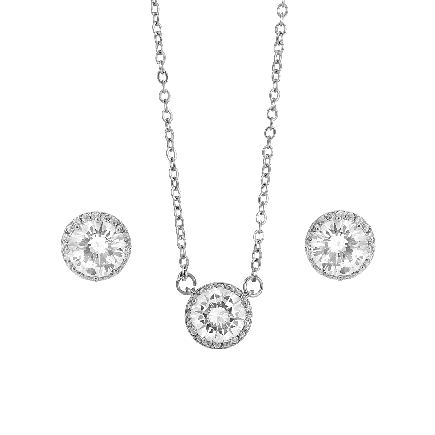 SILVER Classic Crystal Gift Set