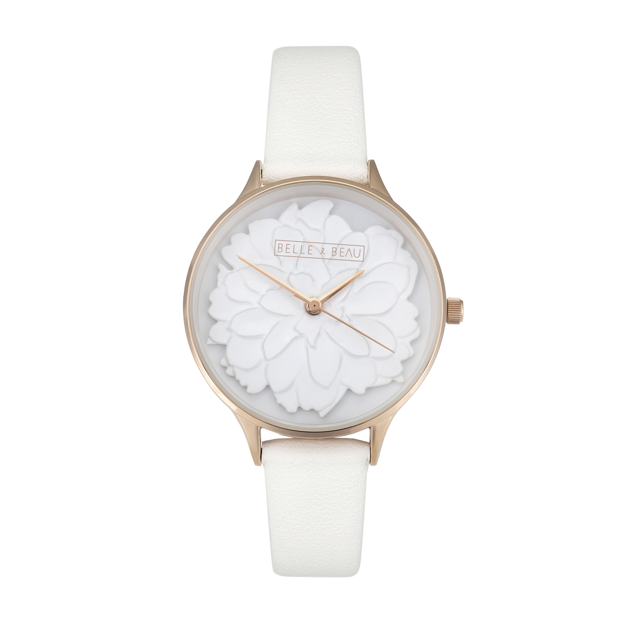 Bb White Lily Blossom Watch