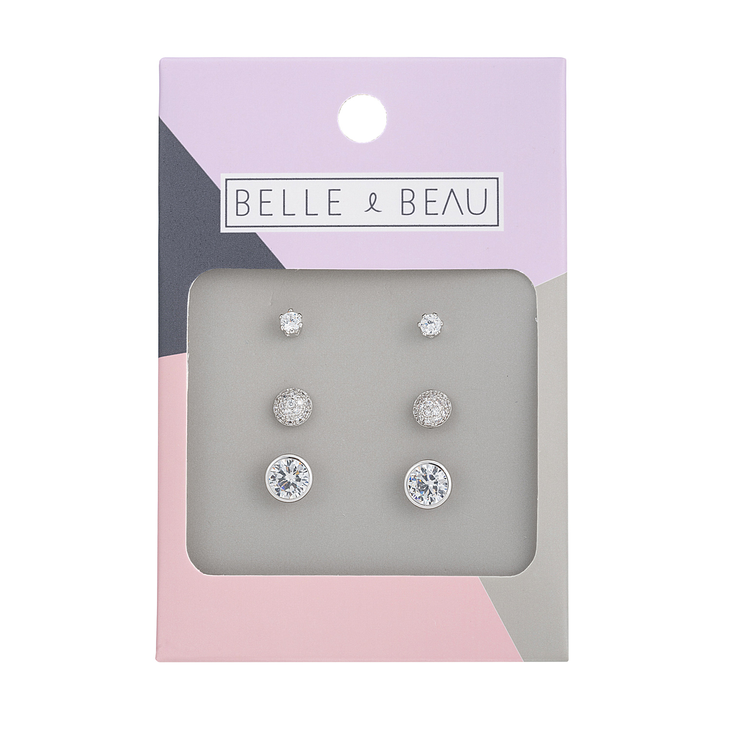 SILVER Cocktail Signature Earring Set