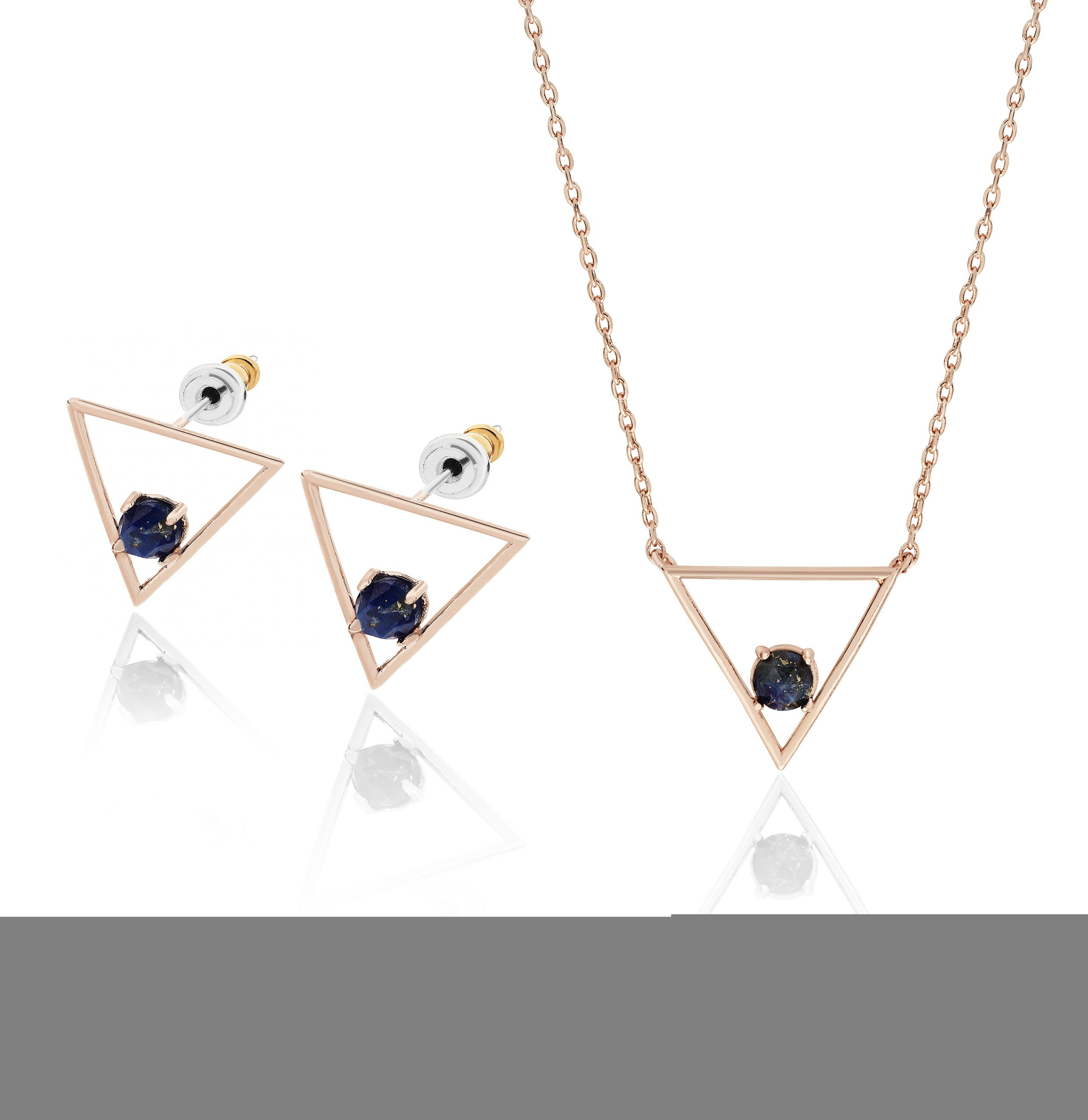 Rose Gold Cosmic Midnight Prism Set