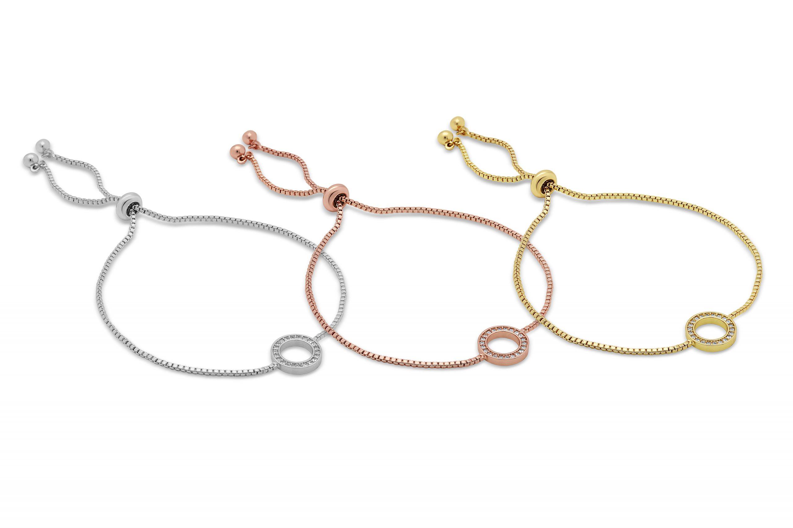 Isla Toggle Triple Bracelet Set
