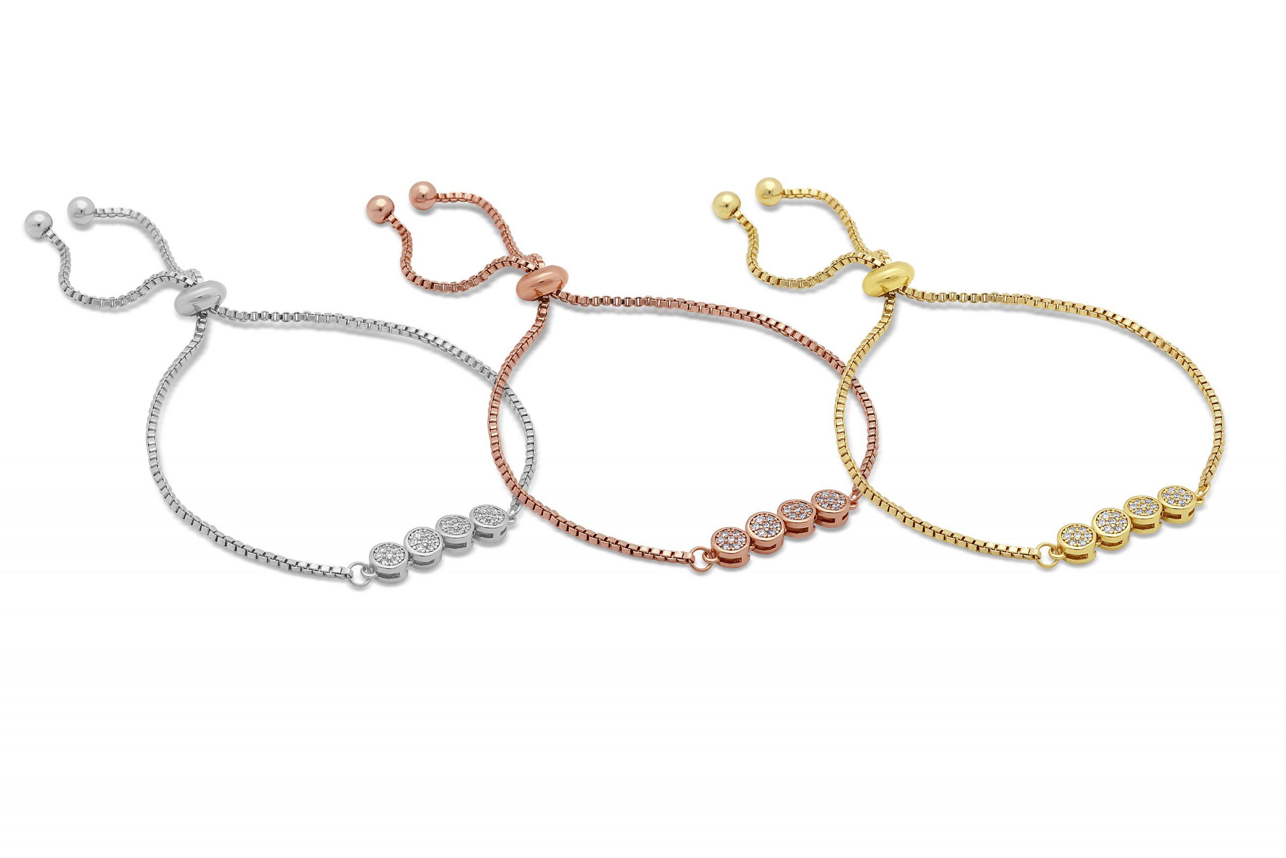 Astra Toggle Triple Bracelet Set