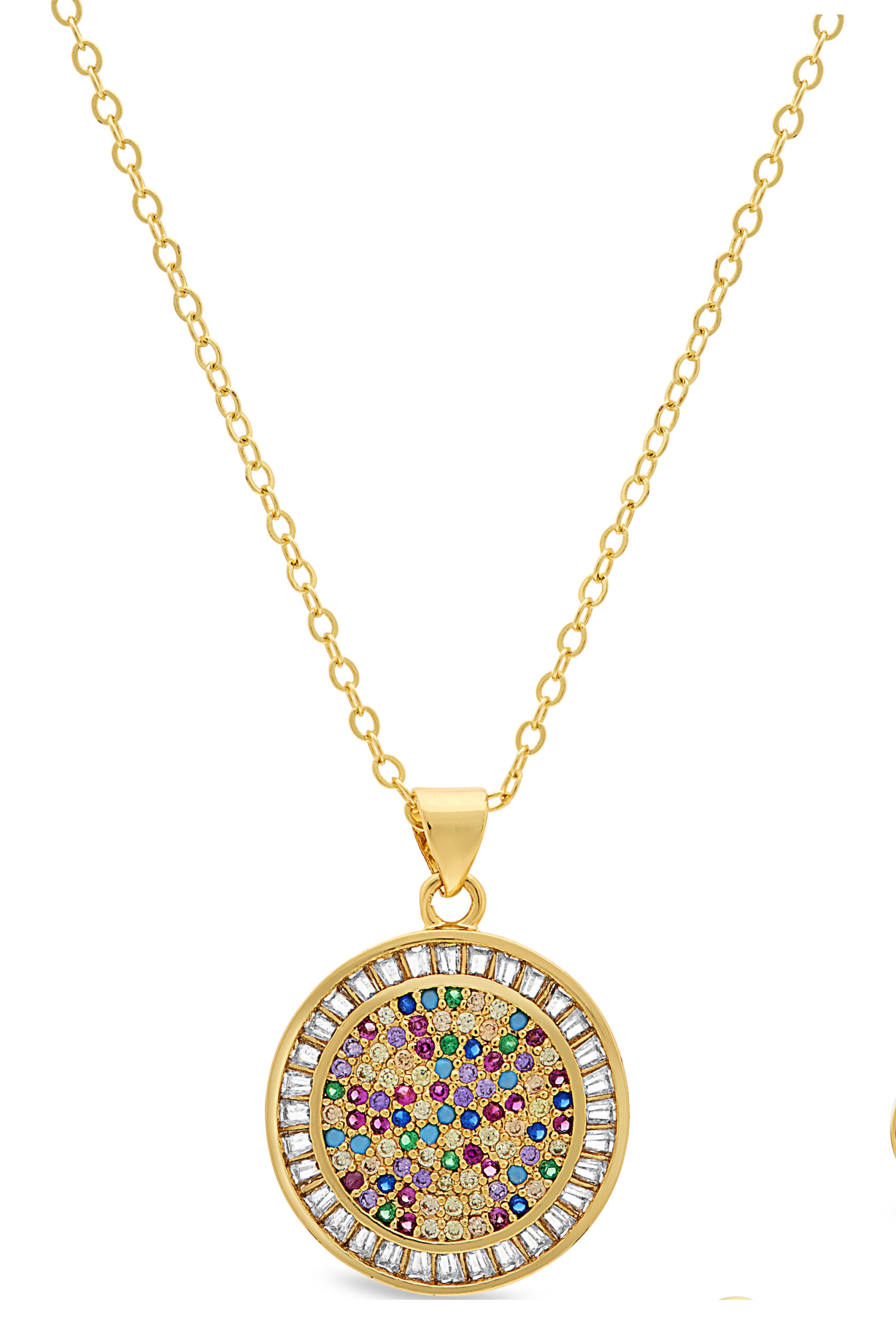 Gold Over The Rainbow Pendant