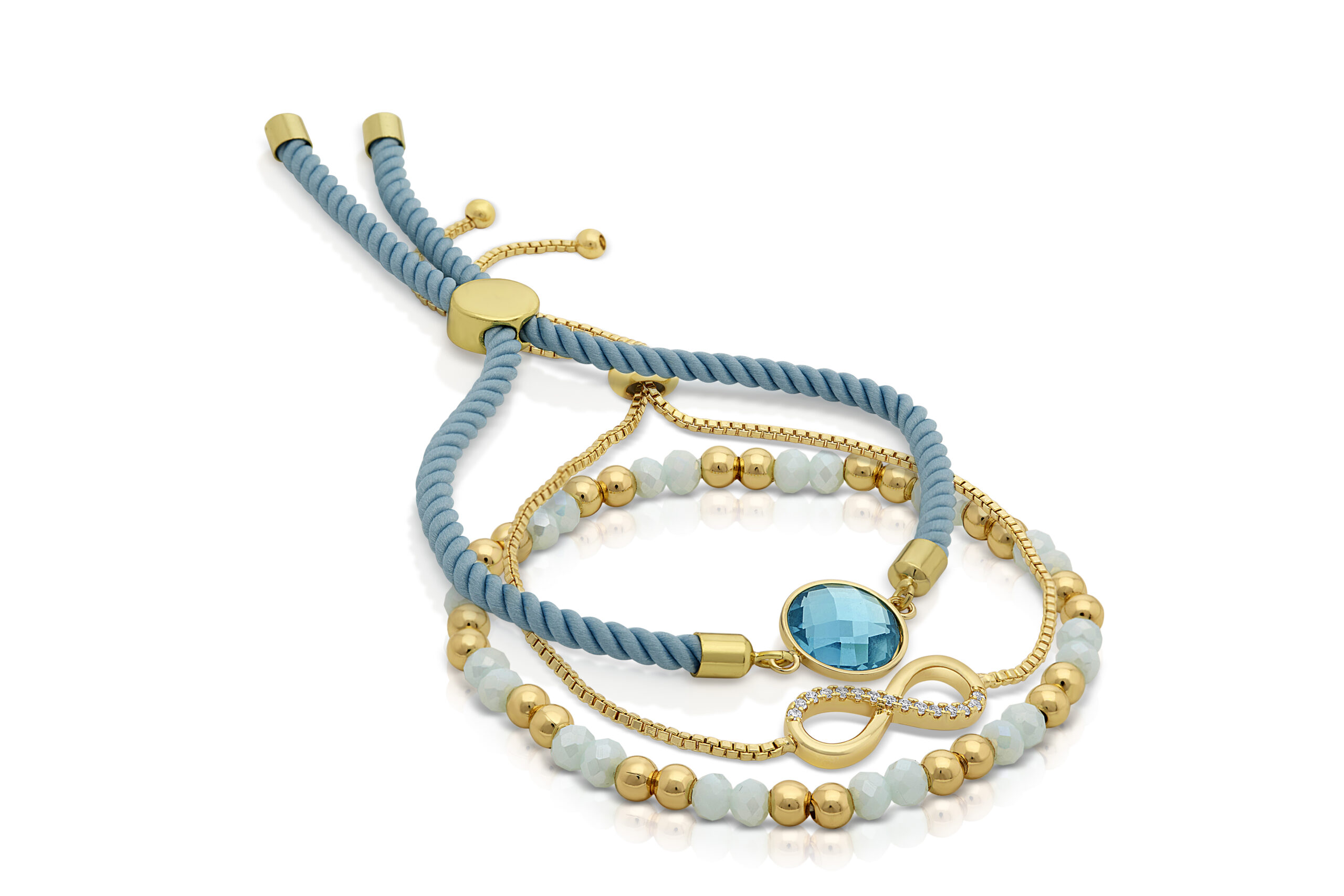 Turquoise Serenity Sky Bracelet Set